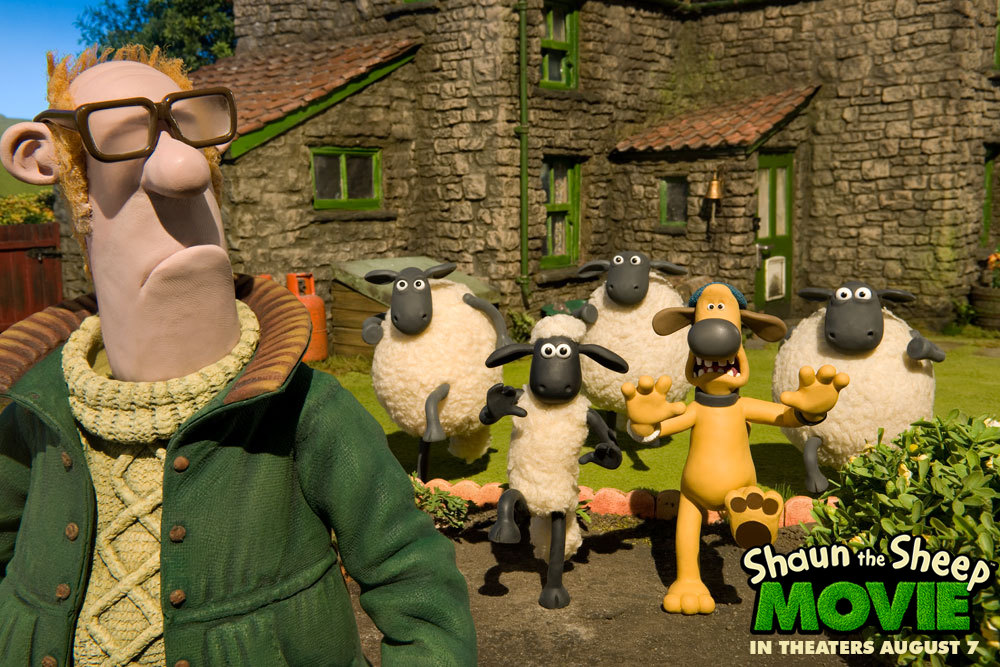 The hijinks begin this summer in #ShaunTheSheep!