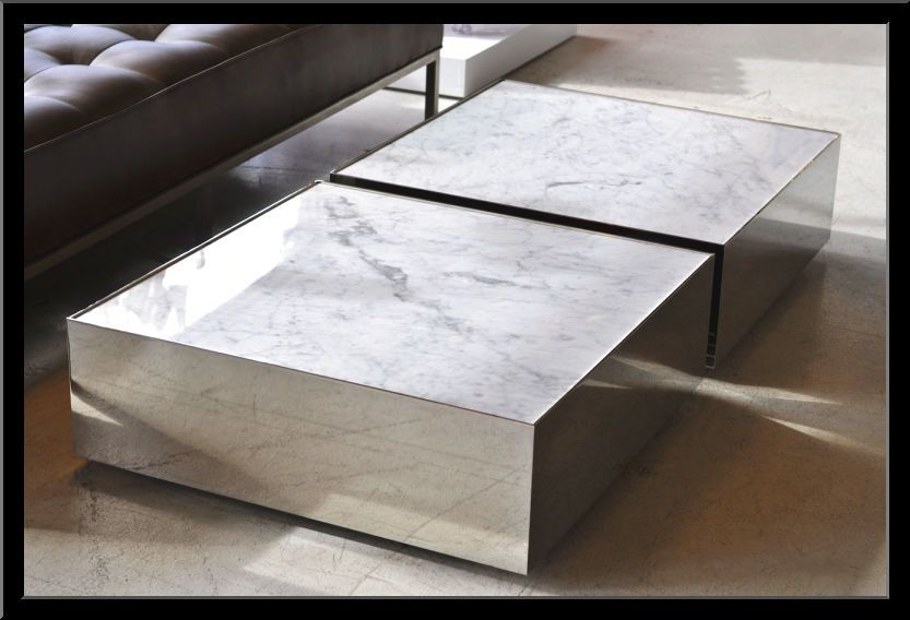 Image result for marble coffee table solid Muebles Pinterest