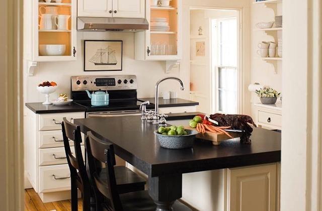 Come arredare una cucina piccola | Interni della cucina ...