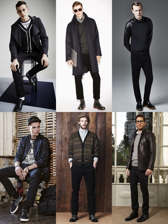 67b5af9225 Men s Black Chinos Outfit Inspiration Lookbook