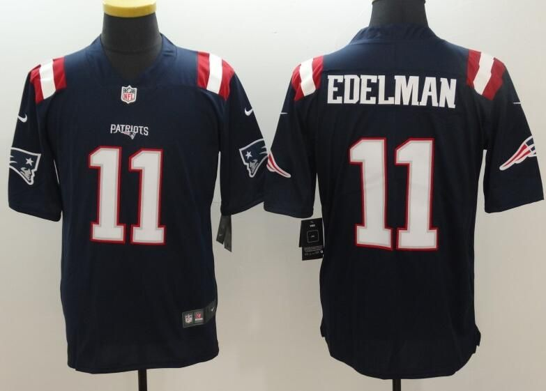70056f05b New England Patriots 11  Edelman Color Rush limited jersey