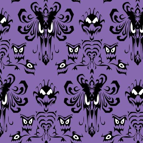 HMWallPaper - Medium fabric by lunastone on Spoonflower - custom fabric