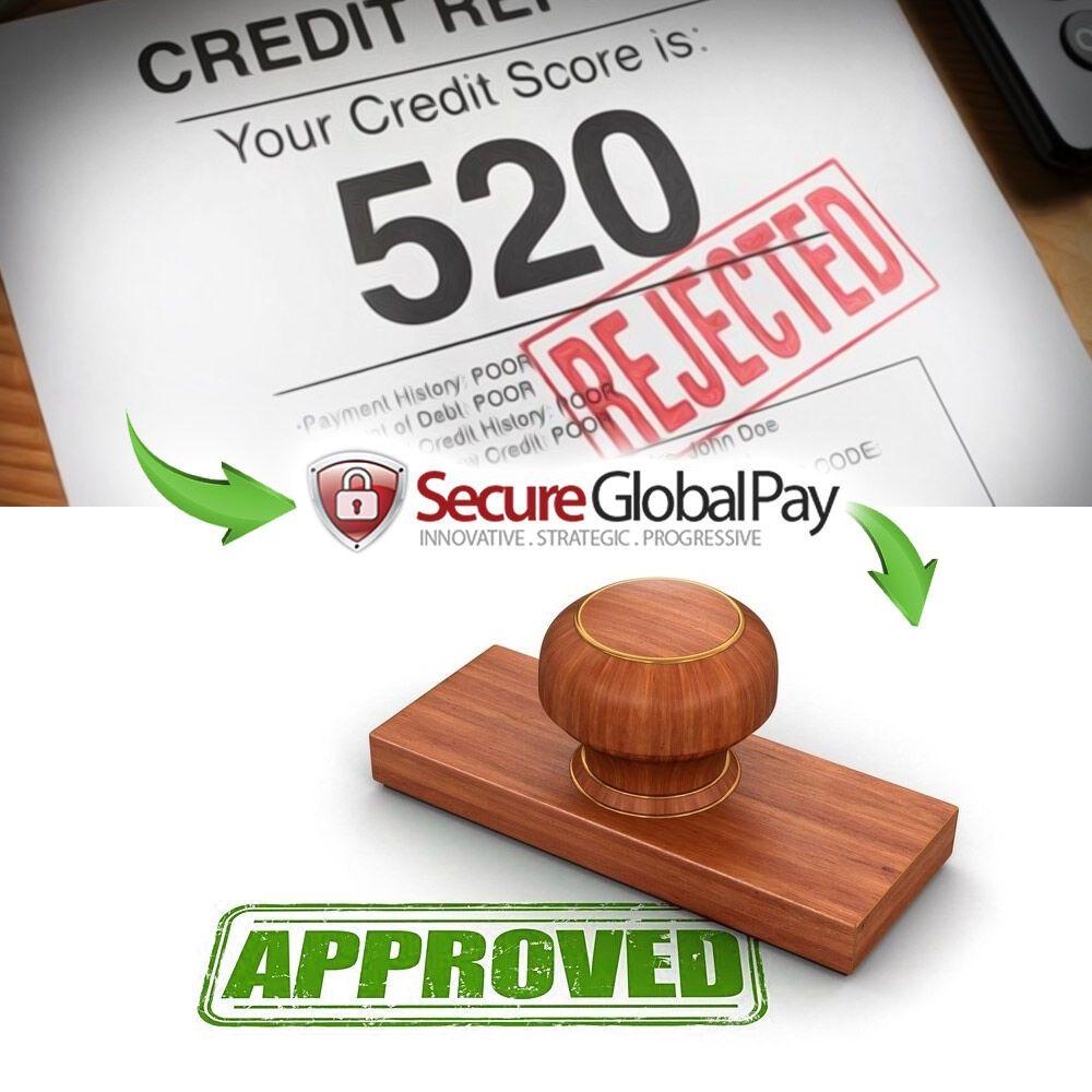 How to get a bad credit merchant accountsecureglobalpay