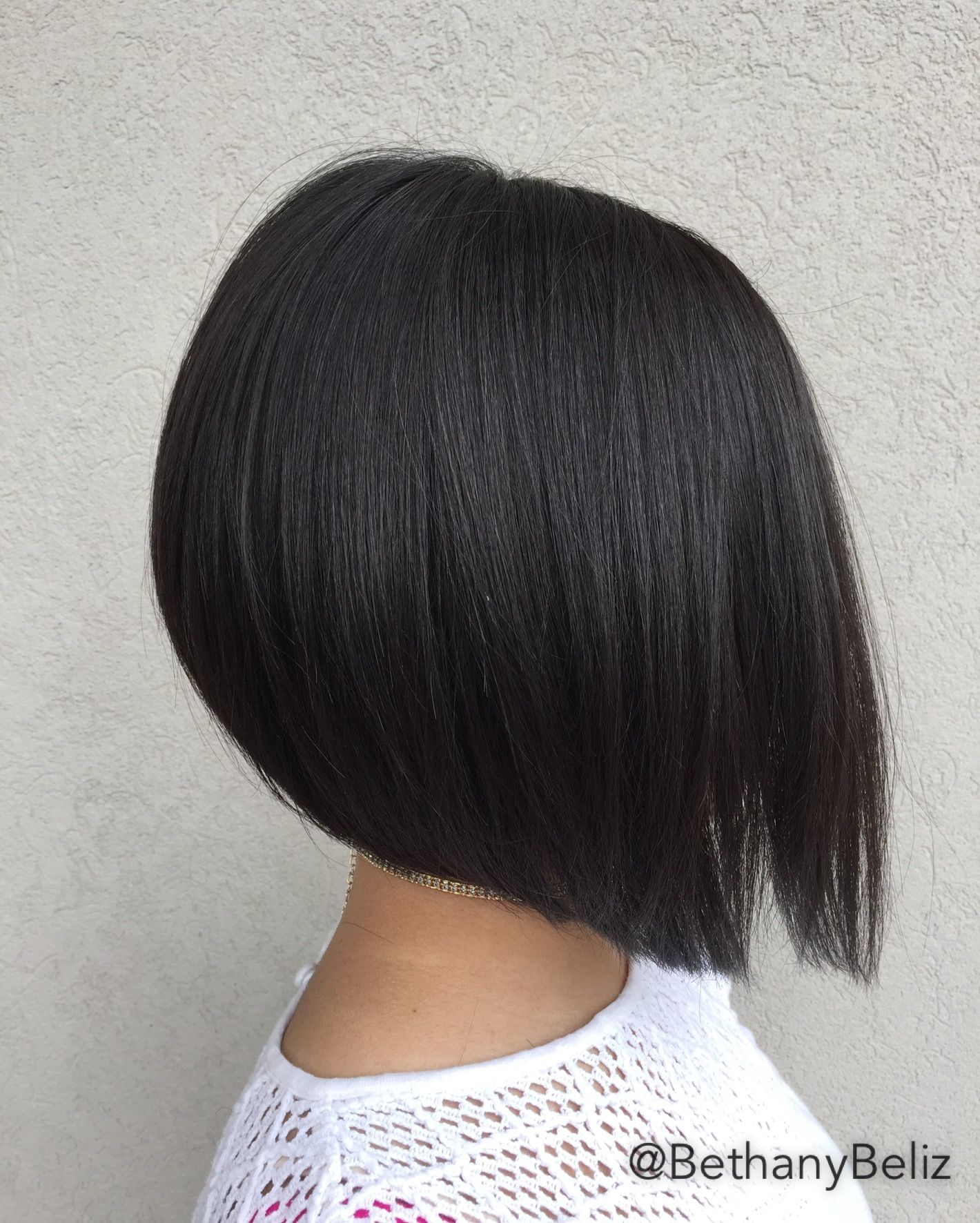 Short Medium Aline Haircut Heavily Textured Aline Haircuts Short Hair Styles Bob Hairstyles