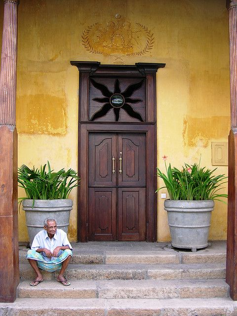 Waiting, Galle Fort, Sri Lanka | DOORS & DOOR KNOCKERS ...