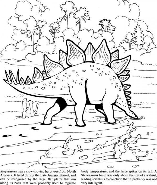 Freebie Dinosaur Coloring Page Com Imagens Pintar