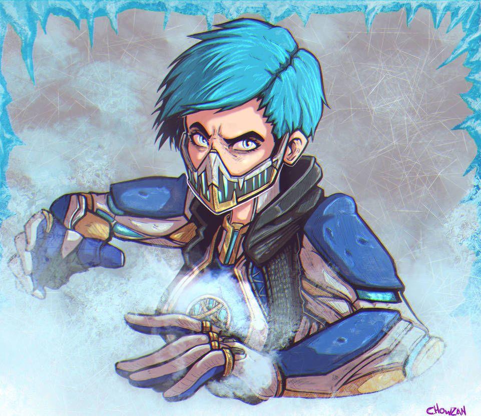 Frost by reliusmax on deviantart mortal kombat art