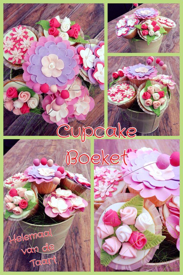 Cupcake Boeket