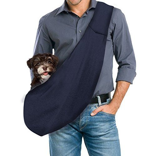 Gempet Handfree Revisible Pet Small Dog Sling Carrier Bag Details Can Be Found By Clicking On The Image Dog Sling Pet Sling Dog Carrier Sling
