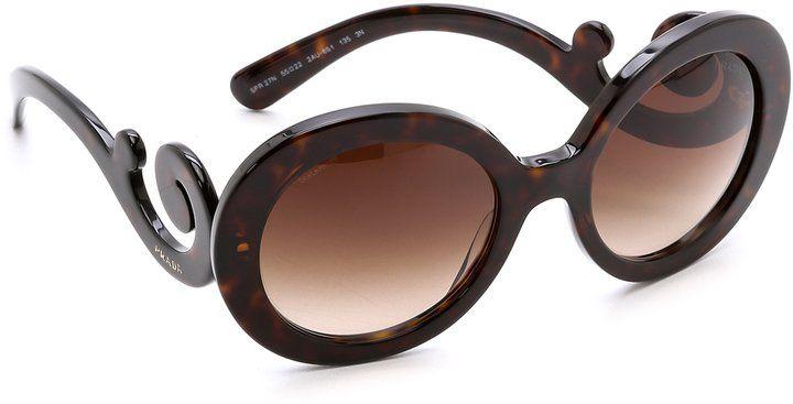 Pin for Later: 30 der coolsten Sonnenbrillen für einen stylischen Sommer  Prada Sonnenbrille (263 €)