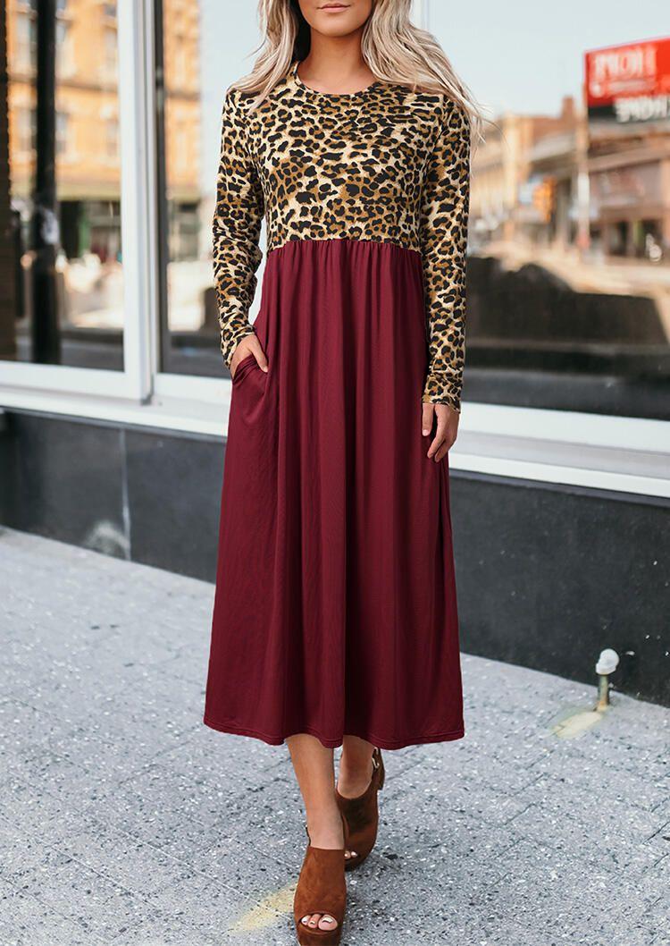 Park Art My WordPress Blog_Burgundy Maxi Dress With Sleeves