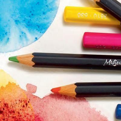 Caran D Ache Museum Aquarelle Pencils Pencil Coloured Pencils