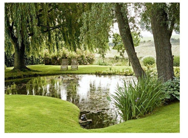 stunning garden waterfall | 30+ Stunning Garden Pond Waterfall Design Ideas | Black ...