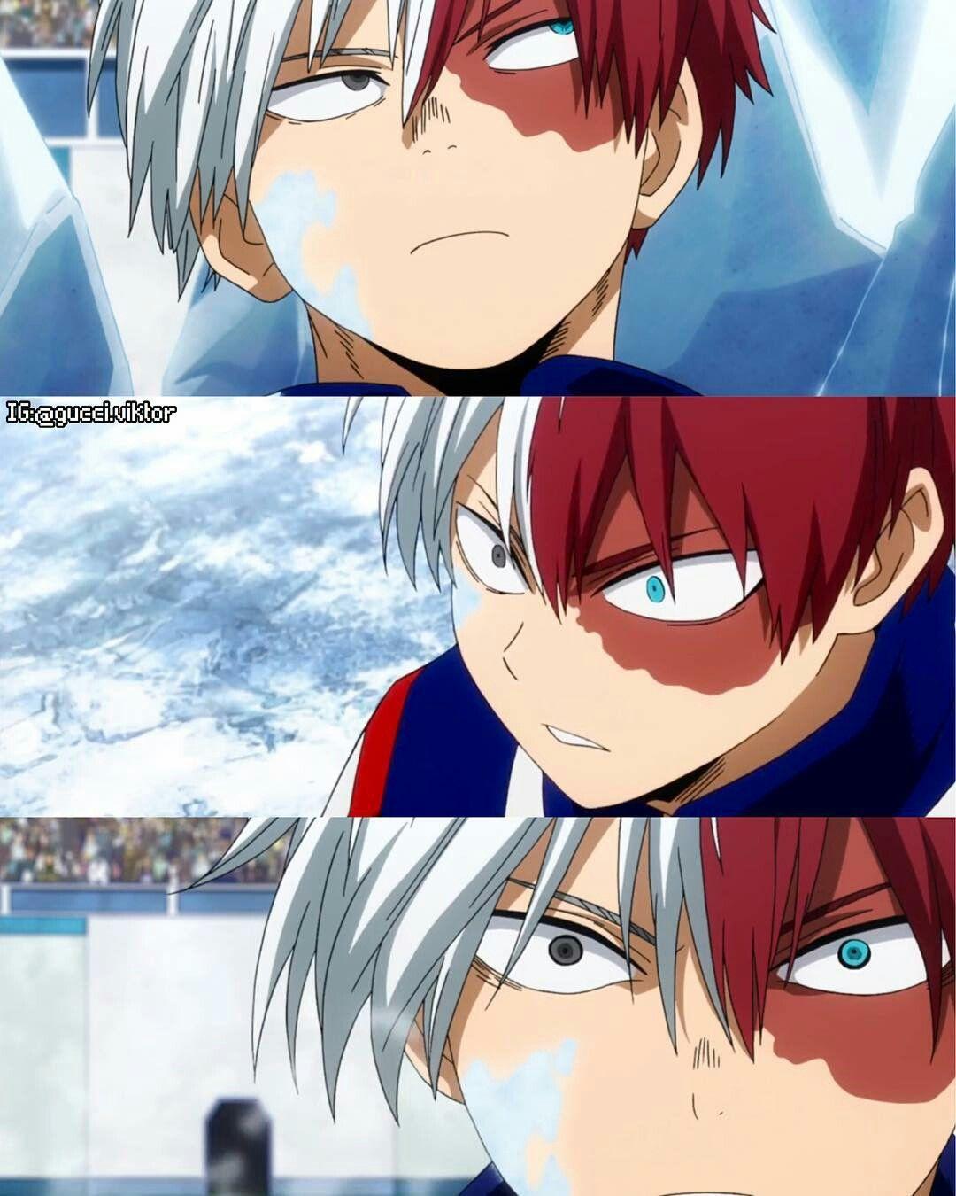 The Many Faces Of Shoto Hero My Hero Academia Shouto Anime