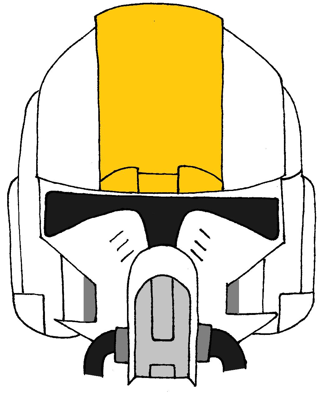 Clone Trooper Oddball S Helmet 2 Star Wars Helmet Star Wars Art Star Wars Clone Wars