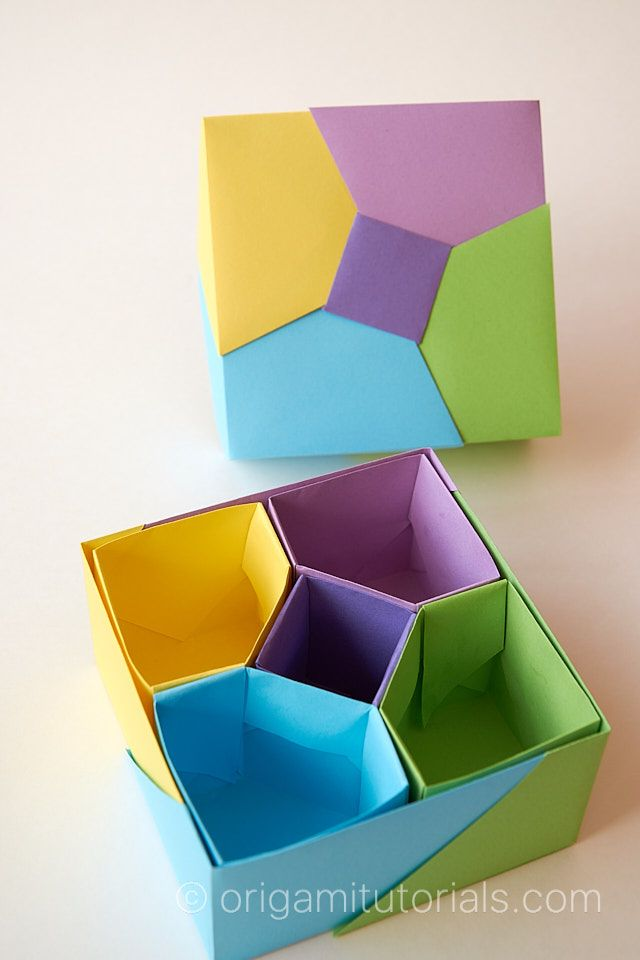 Photo of 5 Color Korean Origami Box