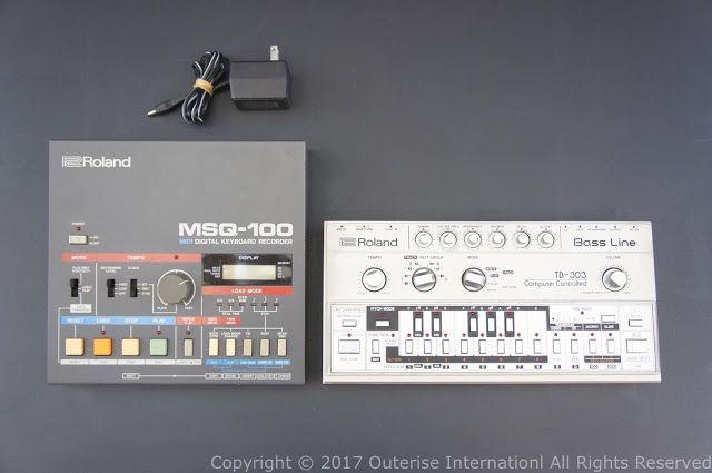 MATRIXSYNTH: Roland TB303 Bassline w/MSQ-100 MIDI/DIN