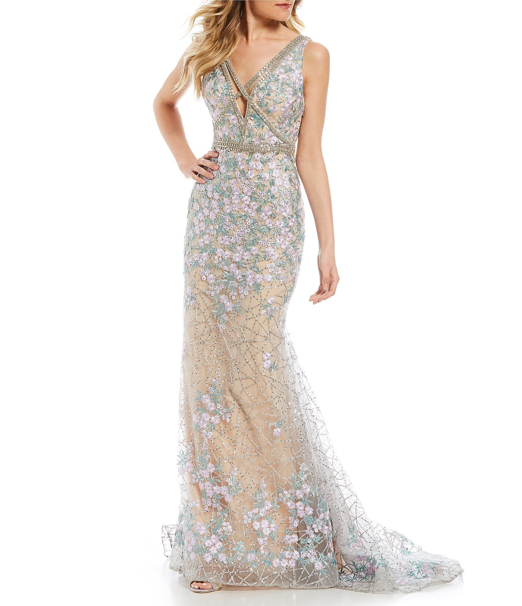 Shop for GB Social Floral Embroidered Gown at Dillards.com. Visit  Dillards.com to find clothing d4d1a2d81