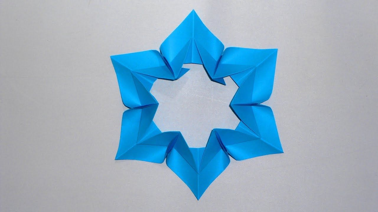 Как сделать снежинки оригами на новый год фото 322