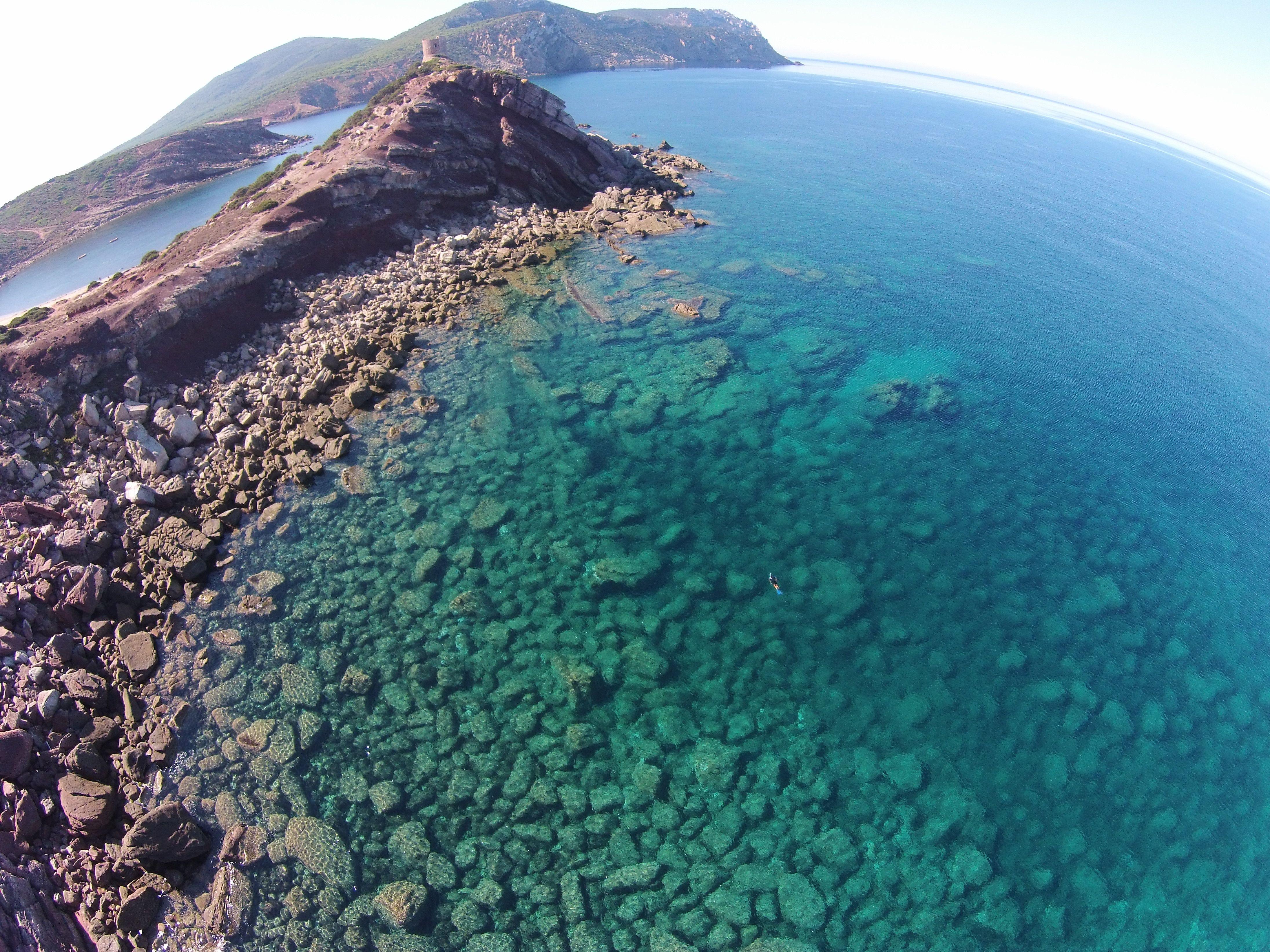 Baia Torre del Porticciolo. O è il mare dei Caraibi?!'1