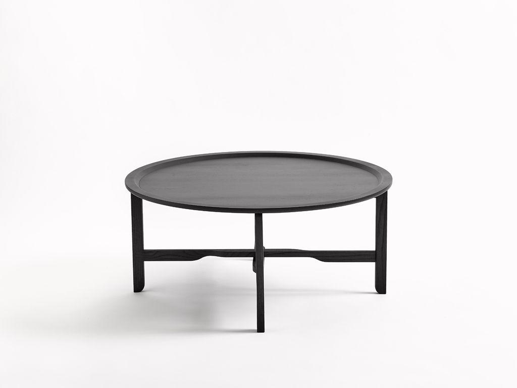 beautiful minimalist coffee table pli by swiss designer florian hauswirth for tossa