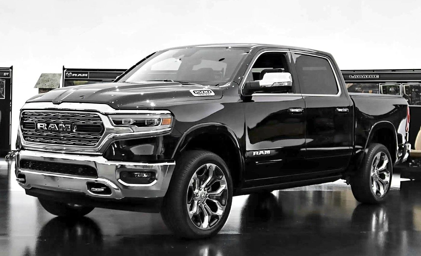 2019 Dodge RAM Laramie 1500 Hemi truck power dodge