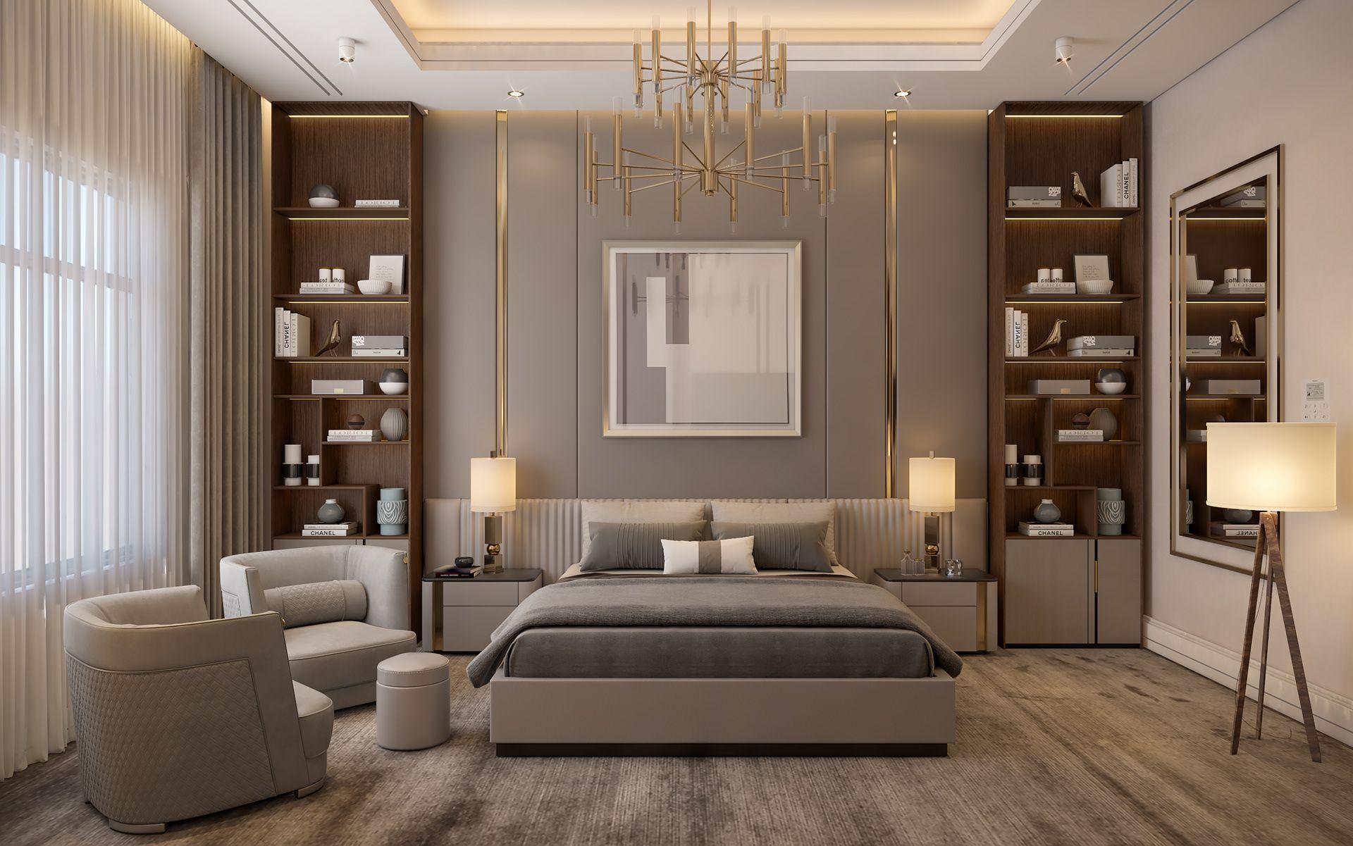 5 Star Hotel Bedroom On Behance Hotel Bedroom Design Modern Luxury Bedroom Luxurious Bedrooms Luxury hotel room design