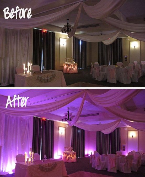 Another Dynamic Example Of Before And After Lighting When