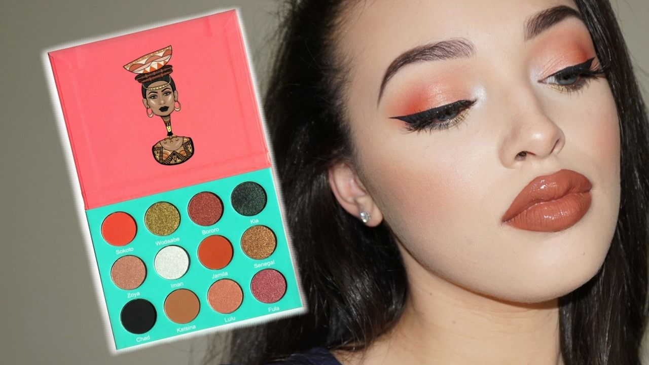 NEW Juvia's Place Saharan Palette | Swatches and Demo | Makeup <3 in