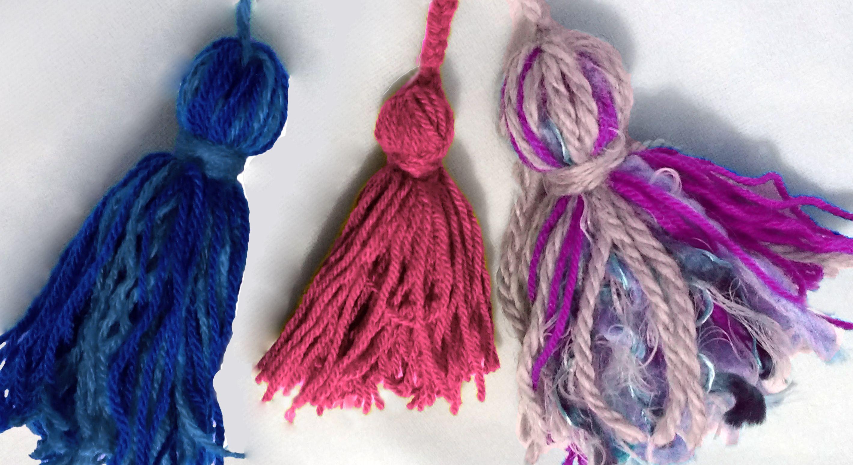 ¡Mirá todas las ideas que podes hacer con borlas de lana!