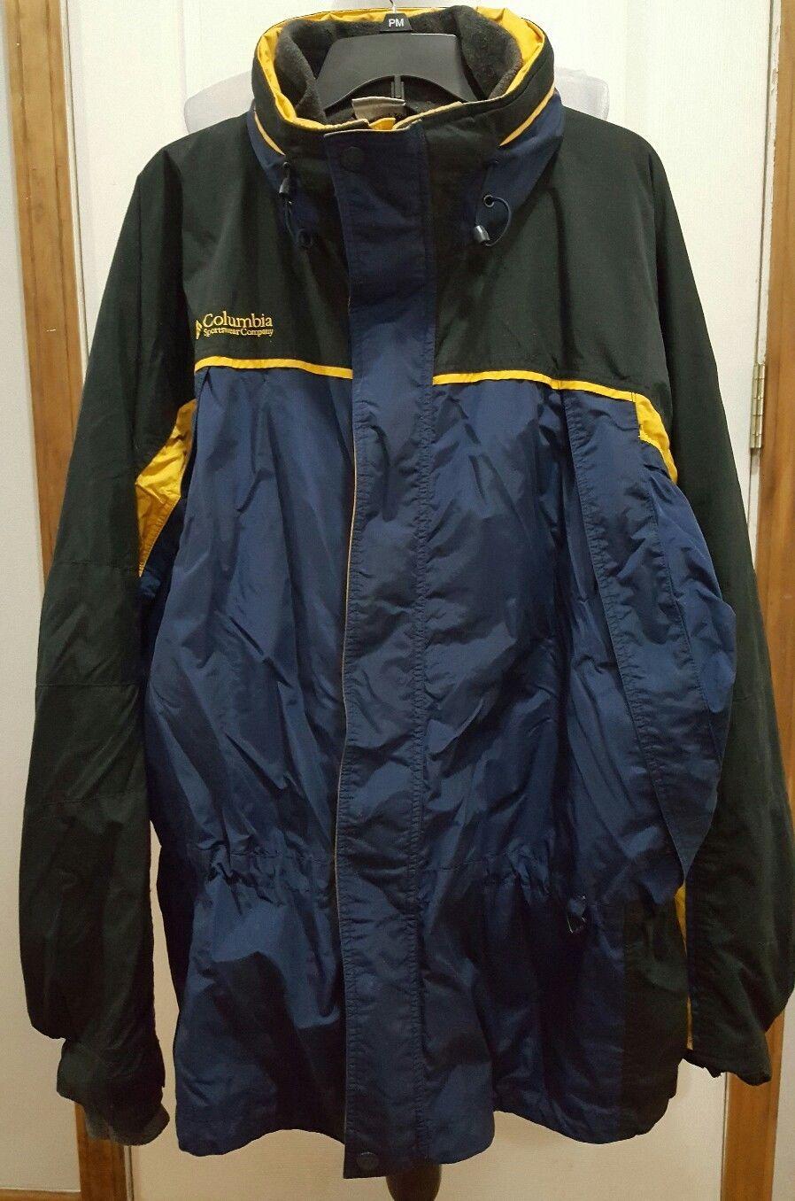60.00   Columbia Men's Fire Ridge 3 in1 Winter Jacket Coat