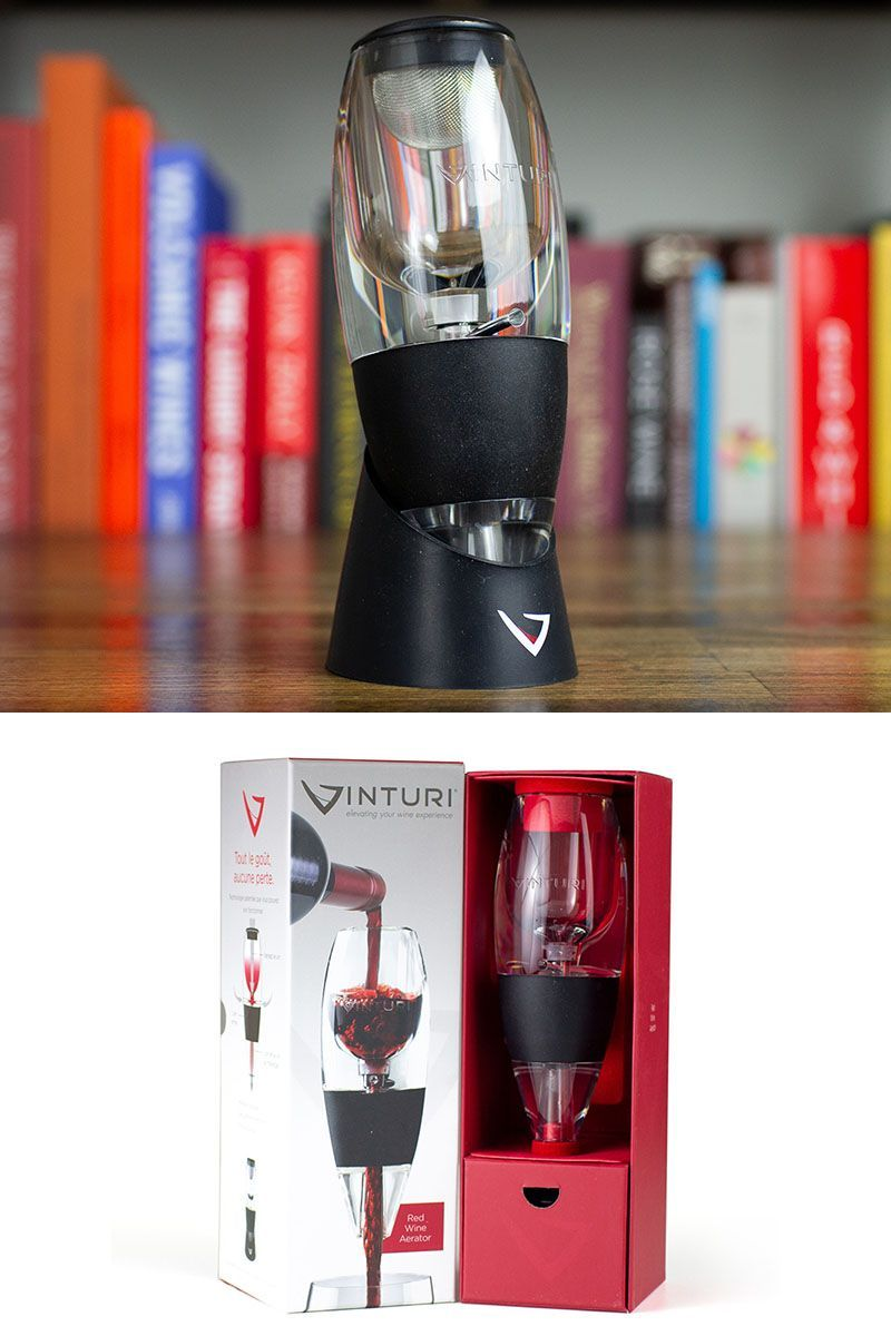 Speed Up The Aeration Process And Start Enjoying New Aromas And Flavors In Your Wine In Seconds No More Hour Long Waiting In 2020 Wine Aerators Wine Chiller Red Wine