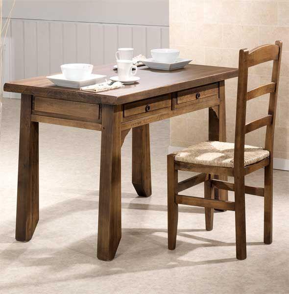Mesa Cocina Rustica Lagar | Rusticas, Muebles rústicos y Mesas