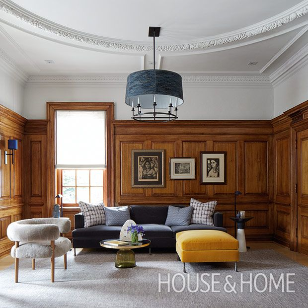 A Historical Home With Modern Spirit By Designer Katherine Newman is part of home Furniture 2017 - H&H 2017 Designer Of The Year Katherine Newman uses bold, creative furniture to bring this Toronto Georgian Revival house to life