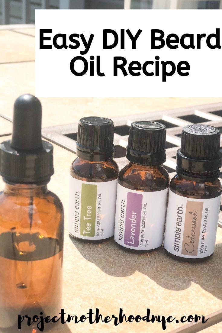 Diy beard oil recipe for your man diy beard oil beard
