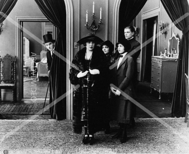 cool 8x10 photo Charlie Chaplin Edna Purviance silent film The Idle Class 1598-11