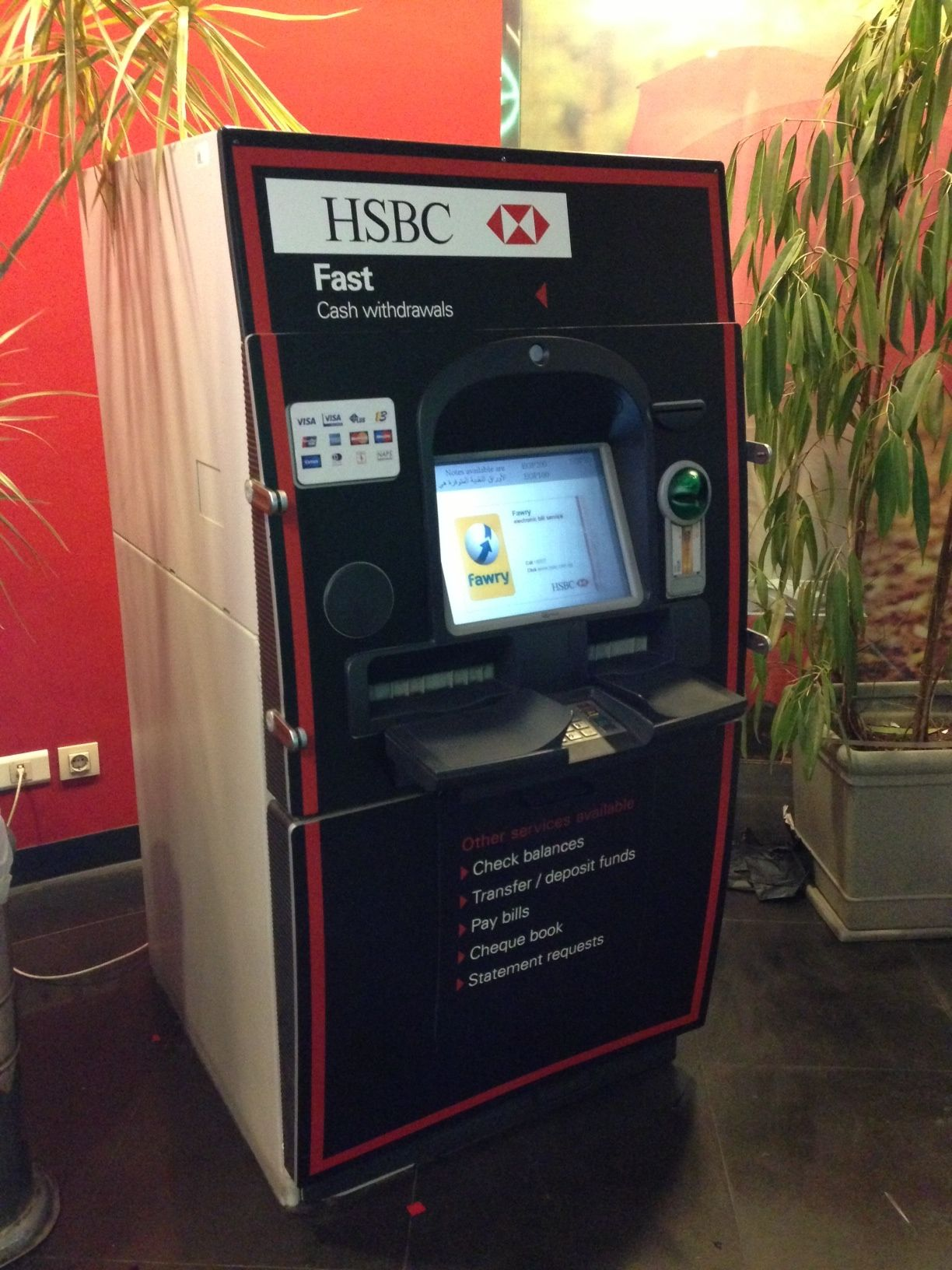 HSBC ATM VINYL WRAPPING MAADI by Better & Partners' Address