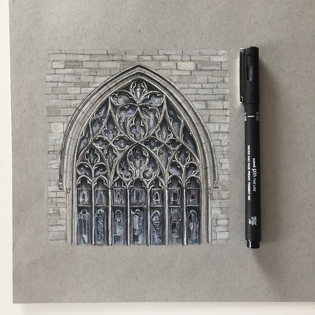 Pen and colouring pencil drawing | really | Pinterest ...