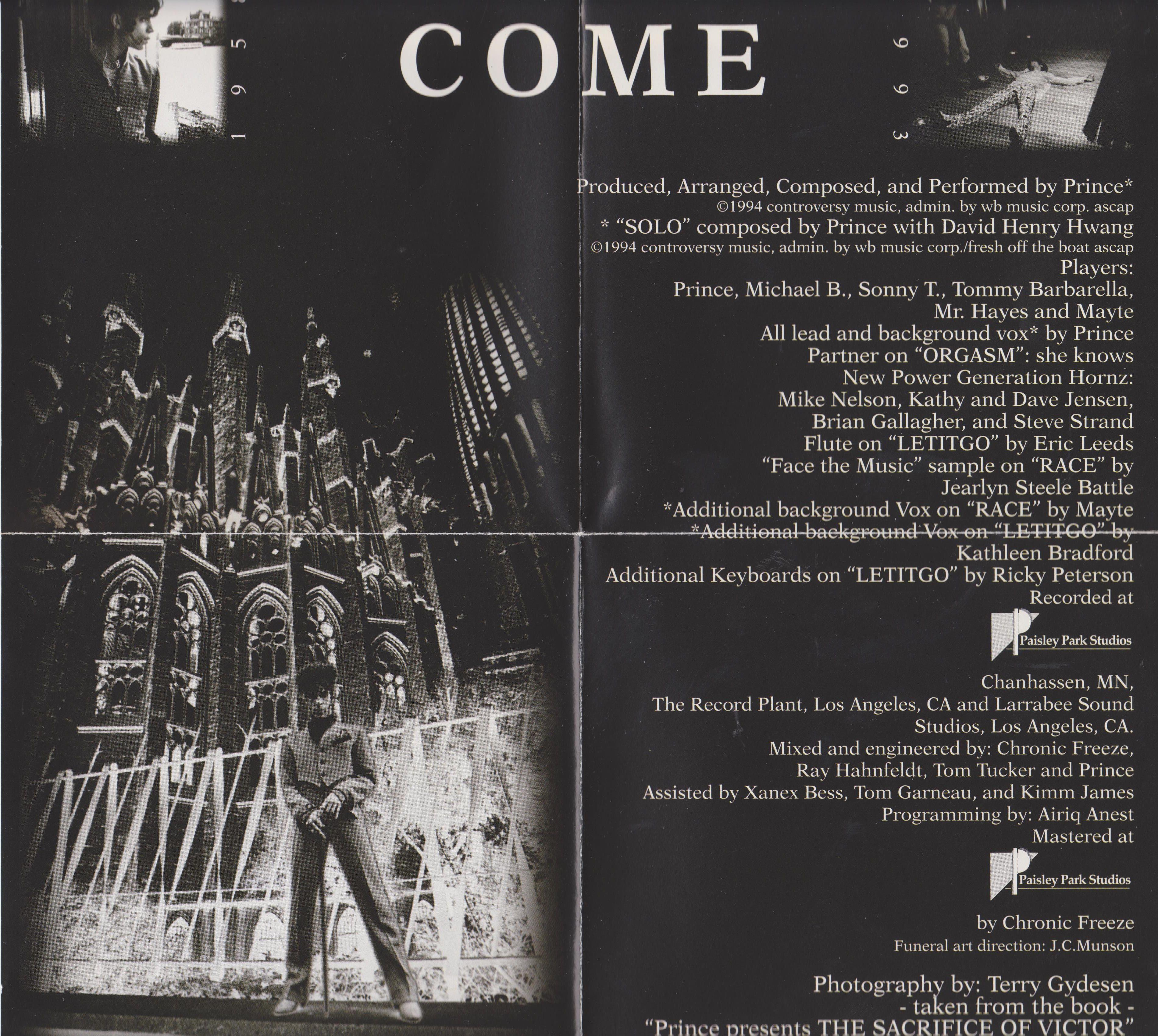 Prince - Come (1994)