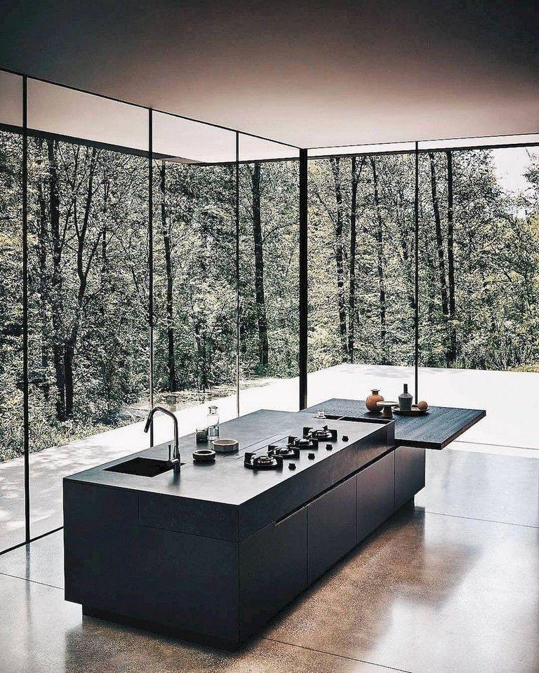 Über 70 atemberaubende minimalistische Küchendesign-Trends   – Interior Design