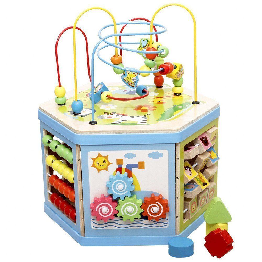 Lewo 8 in 1 Motorikspielzeug Baby Kleinkindspielzeug buntes