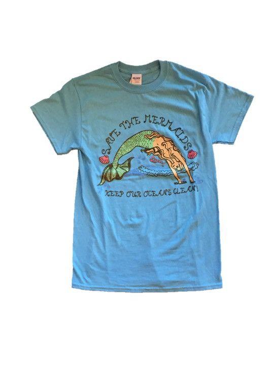 Save The Mermaids Glitter Tee – Sirena Water Wear | Shop Sirena ...