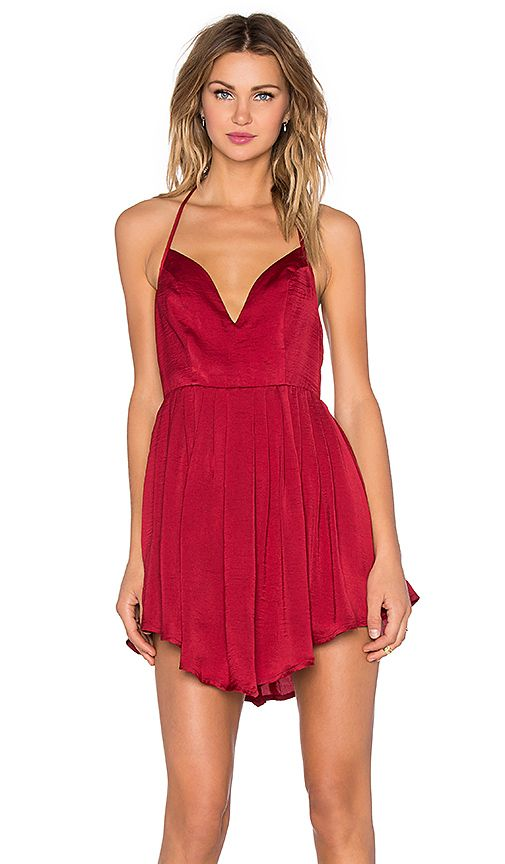 a914573d4abee Shop for NBD Party Girl Dress in Berry Red at REVOLVE. Free 2-3 day ...