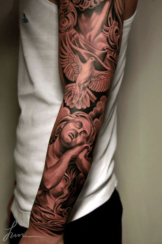 a88e261e8183d ... angel sleeve tattoo. Tags: aztec tribal tattoos bungalows madara uchiha  lds temples punisher hardanger embroidery clean eating sweets 21 days  victoria ...