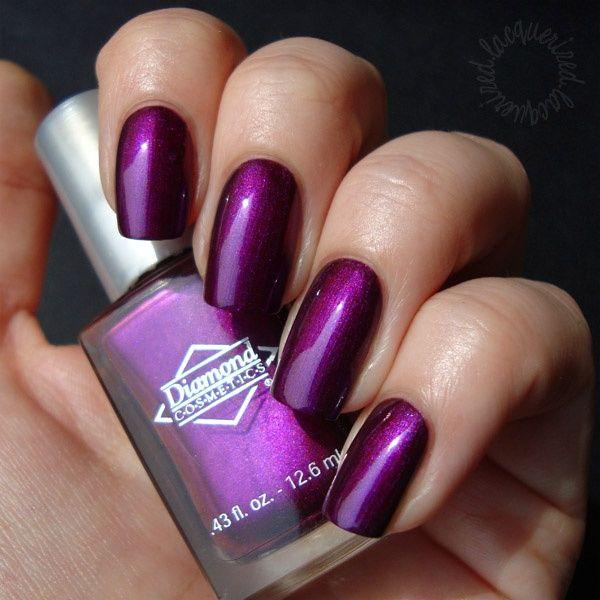 Monarch Masquerade by Diamond Cosmetics - http://yournailart.com/monarch-masquerade-by-diamond-cosmetics/ - #nails #nail_art #nail_design #nail_polish