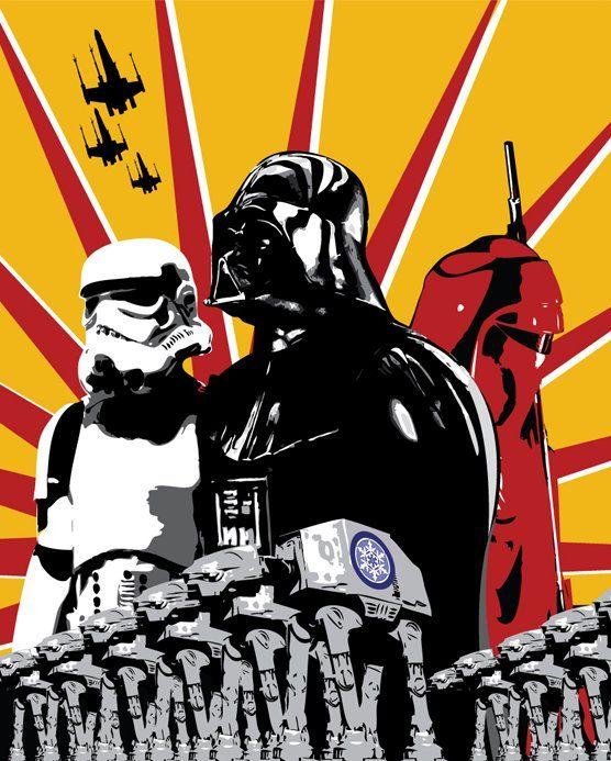 High Quality Star Wars Propaganda Posters Star Wars Awesome Star Wars Poster Star Wars Art