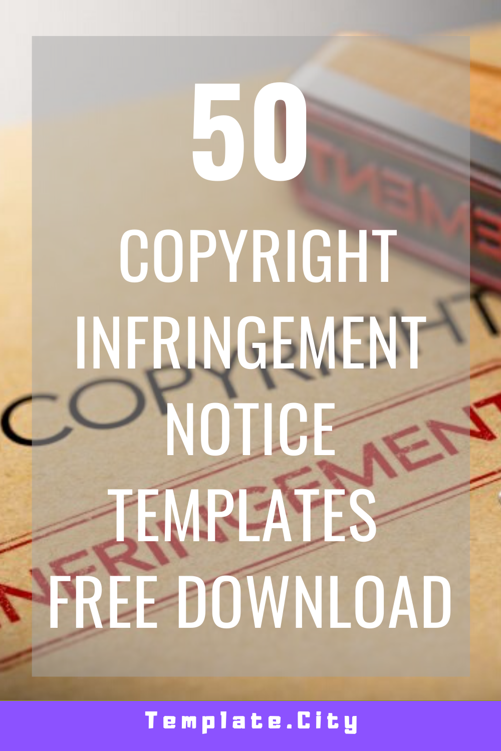 50 Awesome Copyright Infringement Notice Templates Free Download In 2020