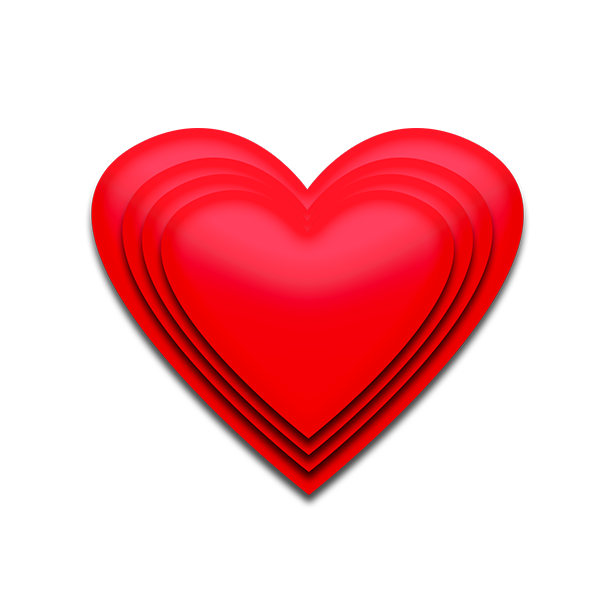 Free Download High Quality Lovely Red 3d Heart Png Transparent Background Image Love Heart Png This Is Vector Lovely 3d Png Valentine 3d Heart Clip Art Image