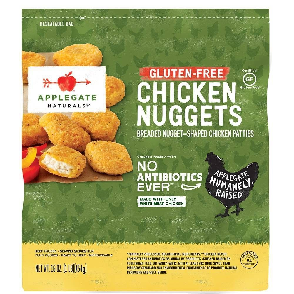 Applegate natural glutenfree chicken nuggets family size