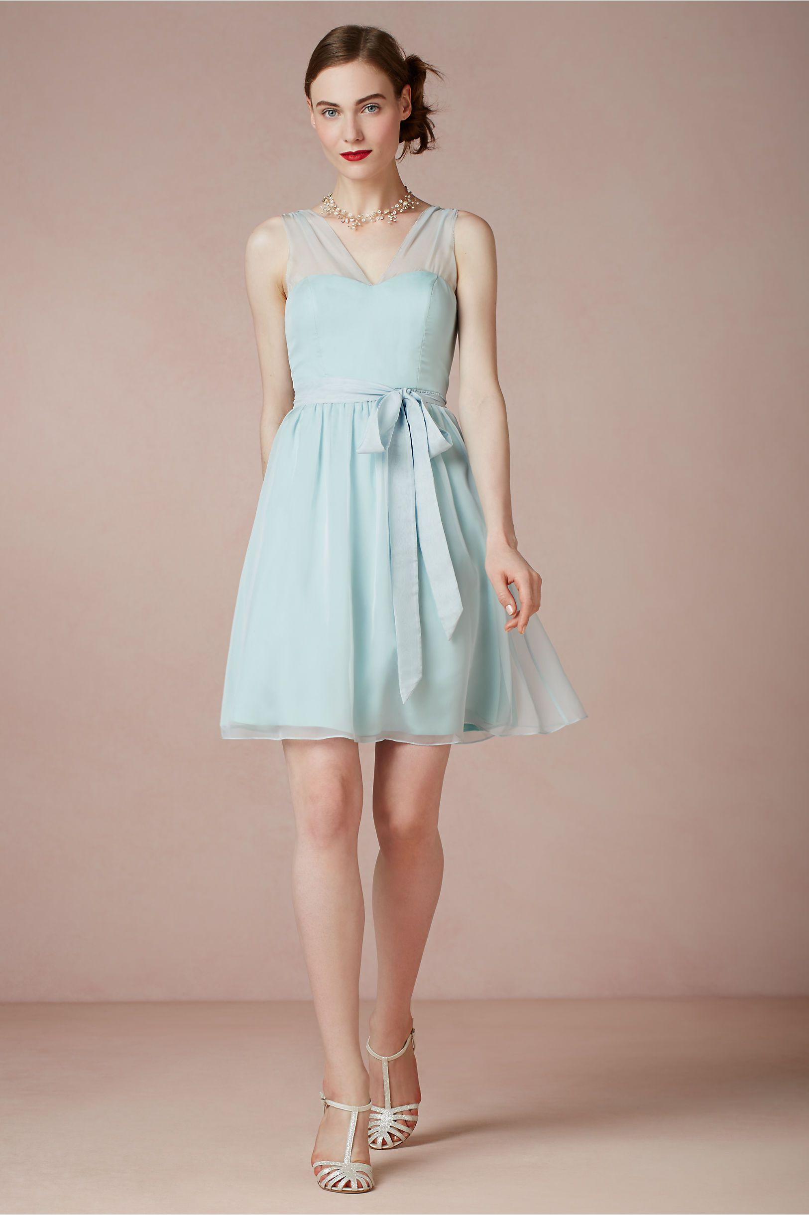 product | Ainsley Bridesmaid Dress from BHLDN in powder blue ...